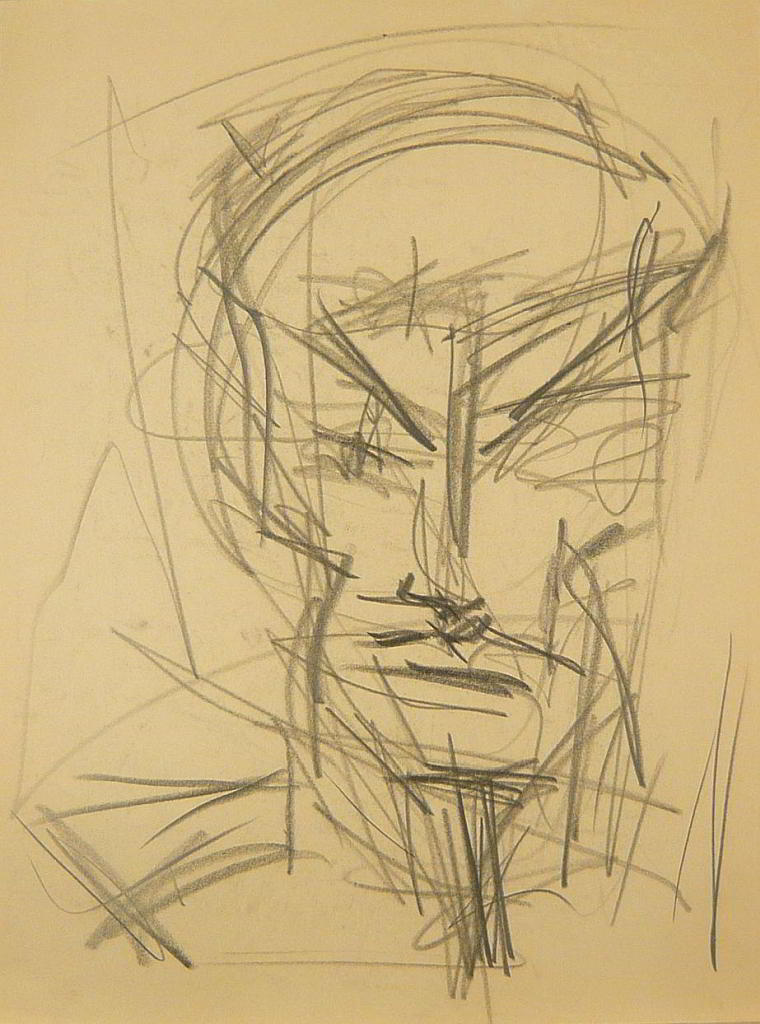 pencil drawing on paper 1992