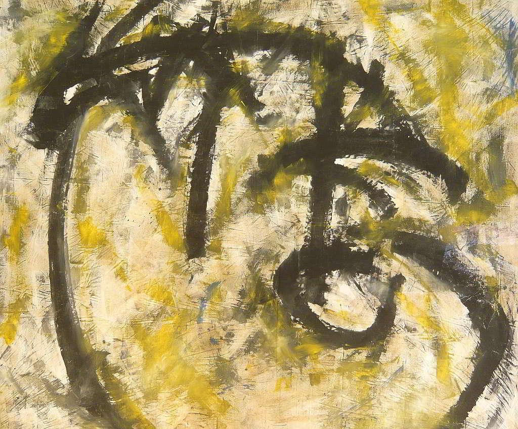 study 4 acrylic colours  on canvas 1998
