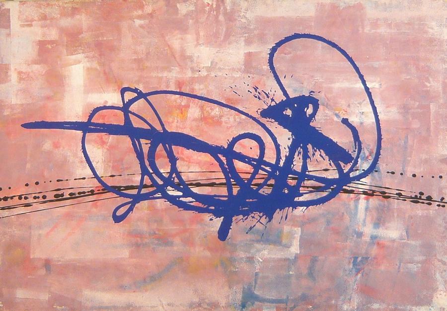 angoli di memeoria 2003 85x148 acrylic on canvas#L.XIV
