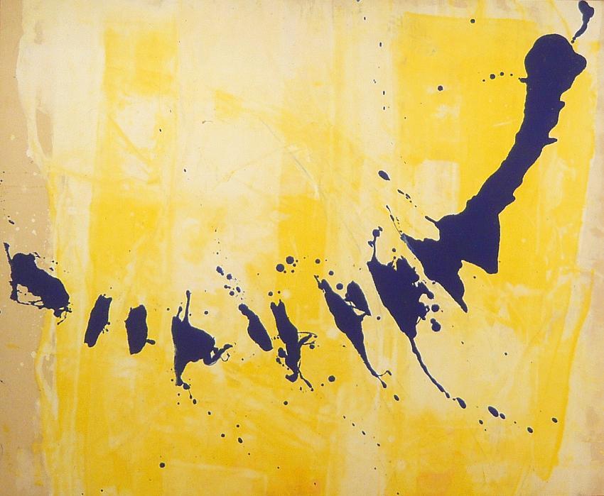 frammenti 2000 1.00 x0.90 acrylic on canvas#L.XIV