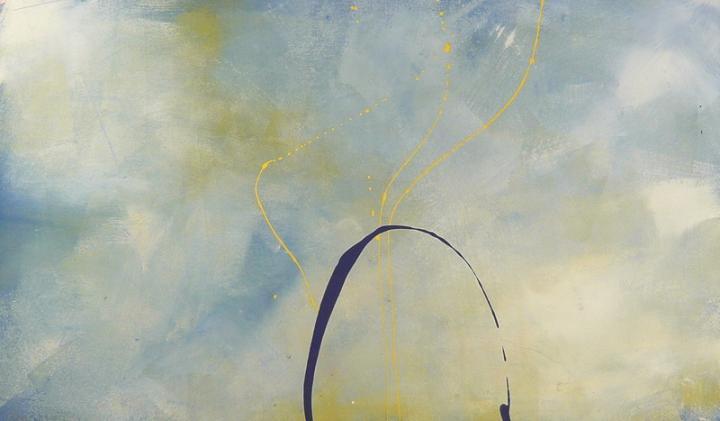 now 18.06.2009 19.06.2009 1.45x1.07 acrylic on canvas#L.XIV