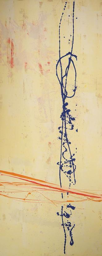 inibizione [di] 02.12.2004 0.94x2.30 acrylic oncanvas#L.XIV