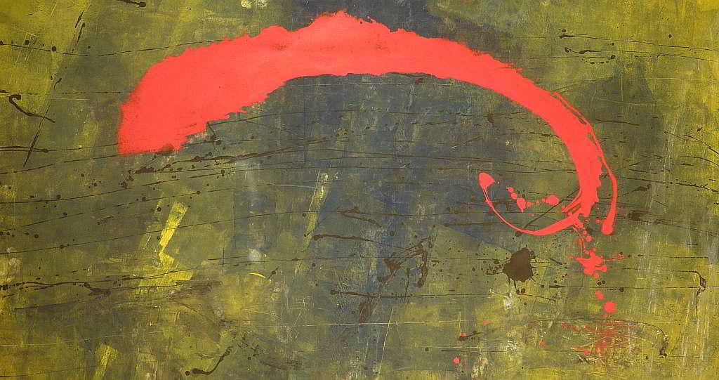 fantasticare 1998 2.54x1.31  acrylic colours   on canvas