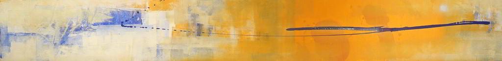atto1 1999 2.95x0.50  acrylic colours  on canvas