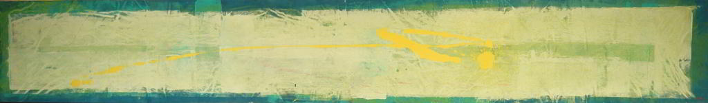 atto3 1999 2.95x0.45   acrylic colours  on canvas