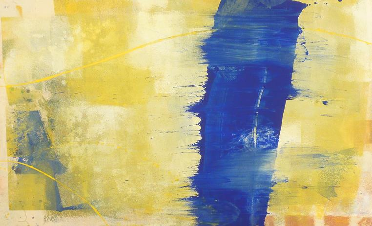 I am 12.06.2012 13.06.2012 82x48 acrylic on canvas#L.XIV
