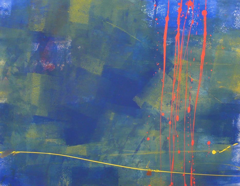 handkerchief 29.05.2012 01.06.2012 84x65 acrylic on canvas#L.XIV