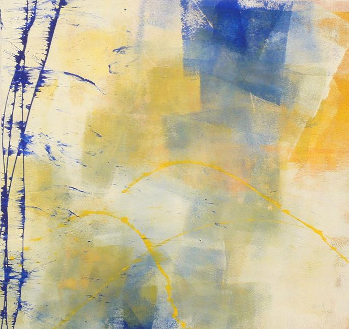 dark blue 05.09.2012 08.09.2012 acrylic on canvas#L.XIV