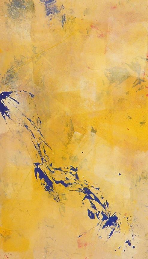 vibrations 10.05.2011 17.05.2011 0.55x0.96 acrylic on canvas#L.XIV