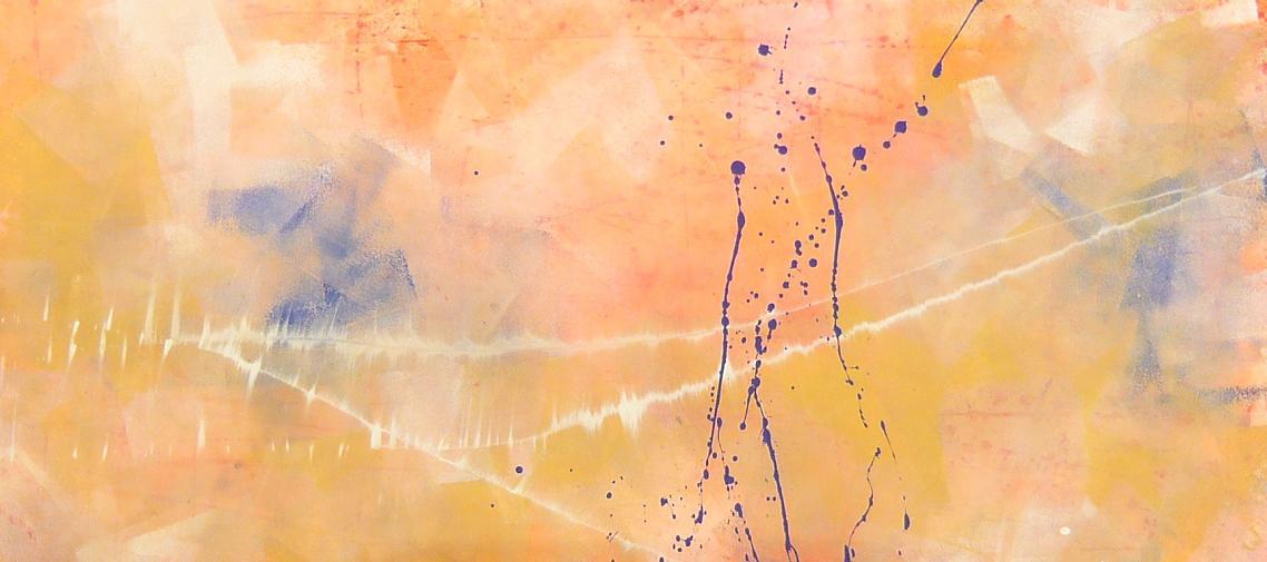 cloud 07.05.2010 1.30x50 acrylic on canvas#L.XIV