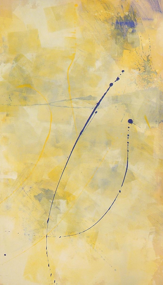hourglass 02.02.2011 07.02.2011 0.80x1.37 acrylic on canvas#L.XIV