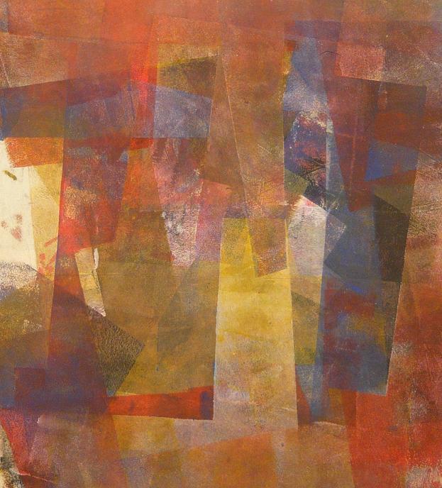 unconscious 60x53 2014 acrylic on canvas D.L.XIV