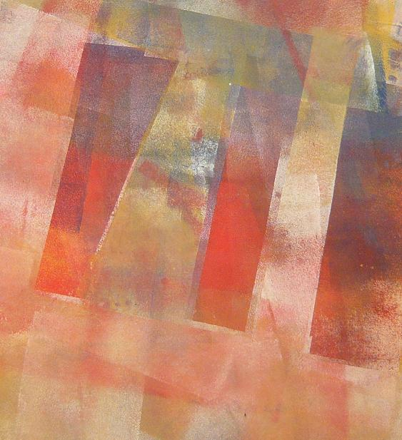 in silence 53x58 2014 acrylic on canvas D.L.XIV