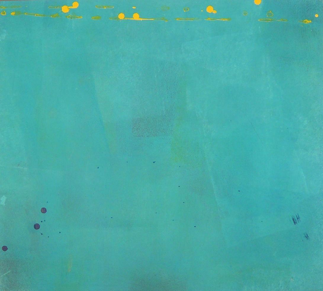 stumbling 55x60 2014 acrylic on canvas DL.XIV